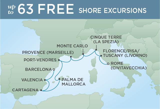 Regent/Radisson Luxury Cruises COBBLESTONES & CASTLES | 10 NIGHTS | DEPARTS OCT 08, 2019 |  Voyager