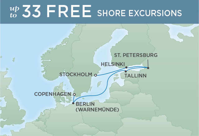 REGENT CRUISES MONARCHS & TSARS | 7 NIGHTS | DEPARTS JUN 25, 2019 | Seven Seas Explorer