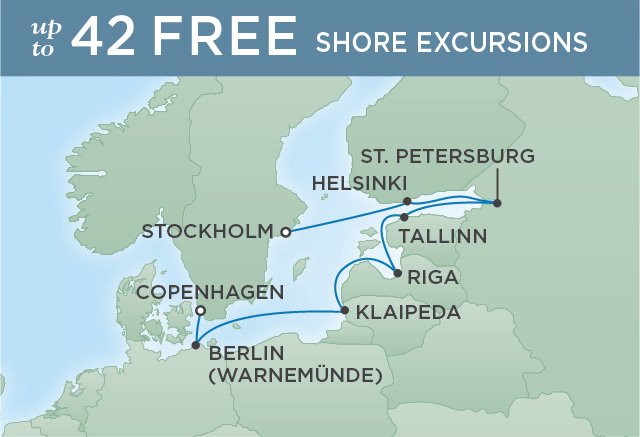 REGENT CRUISES PORTRAIT OF ST. PETERSBURG | 10 NIGHTS | DEPARTS JUL 02, 2019 | Seven Seas Explorer