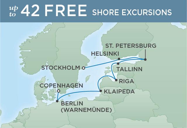 Regent/Radisson Luxury Cruises PORTRAIT OF ST. PETERSBURG | 10 NIGHTS | DEPARTS JUL 02, 2019 |  Explorer