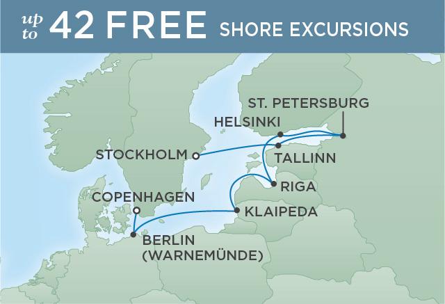 Regent/Radisson Luxury Cruises EUROPEAN HERITAGE   10 NIGHTS   DEPARTS JUL 12, 2019    Explorer