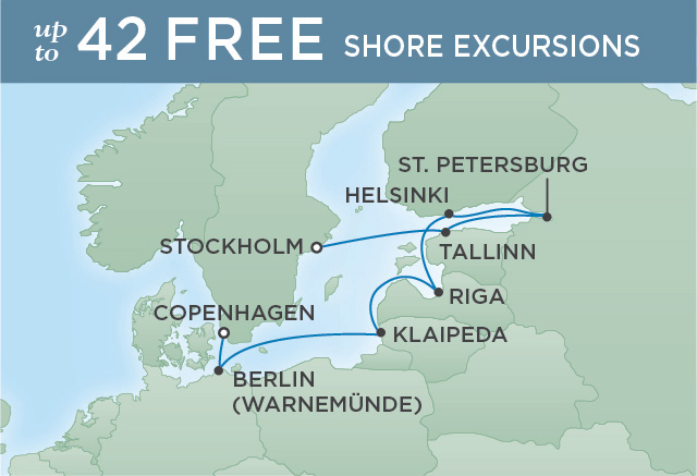 Regent/Radisson Luxury Cruises BALTIC RADIANCE | 10 NIGHTS | DEPARTS JUL 29, 2019 |  Explorer