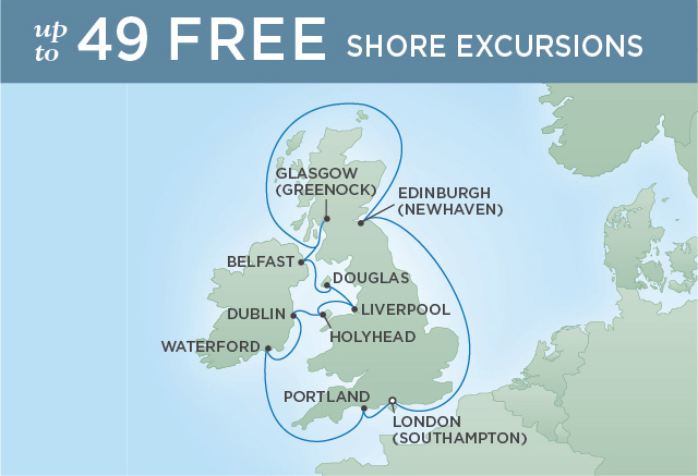 REGENT CRUISES BRITISH ISLES & BEATLEMANIA | 12 NIGHTS | DEPARTS SEP 11, 2019 | Seven Seas Explorer