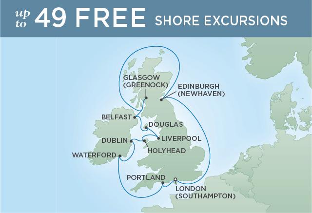 Regent/Radisson Luxury Cruises BRITISH ISLES & BEATLEMANIA | 12 NIGHTS | DEPARTS SEP 11, 2019 |  Explorer