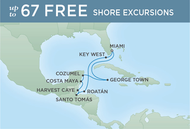 Regent/Radisson Luxury Cruises ISLAND LIVING | 10 NIGHTS | DEPARTS DEC 07, 2019 |  Explorer