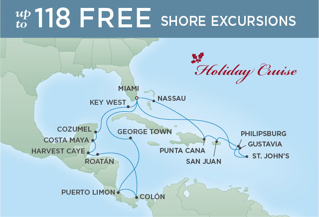 REGENT CRUISES CARIBBEAN RENDEZVOUS | 22 NIGHTS | DEPARTS DEC 17, 2019 | Seven Seas Explorer