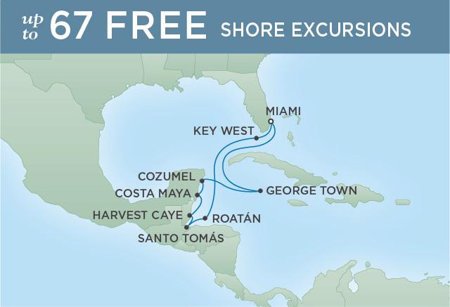 REGENT CRUISES FROM RIVERIA TO HEMINGWAY | 10 NIGHTS | DEPARTS FEB 11, 2020 | Seven Seas Explorer