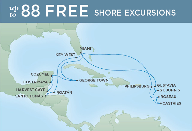REGENT CRUISES ISLAND ESCAPADES | 20 NIGHTS | DEPARTS FEB 11, 2020 | Seven Seas Explorer