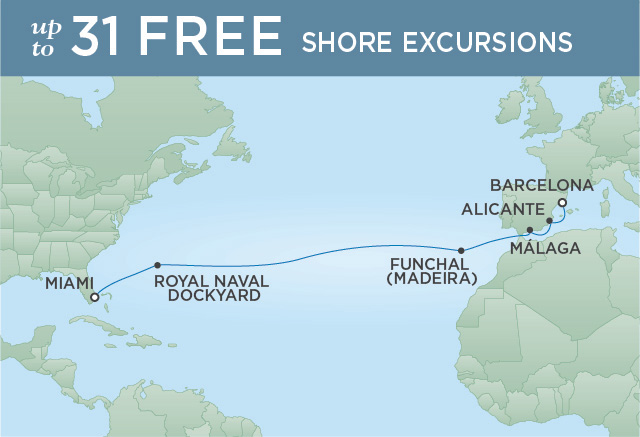 REGENT CRUISES ATLANTIC ESCAPE | 14 NIGHTS | DEPARTS APR 03, 2020 | Seven Seas Explorer