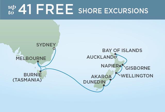 7 Seas Luxury Cruises MAJESTY OF MILFORD - January 7-21 2021