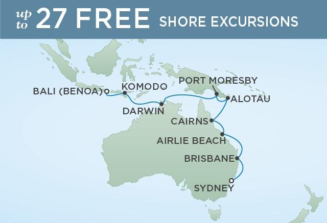 7 Seas Luxury Cruises KOALAS TO KOMODOS - February 4-22 2021