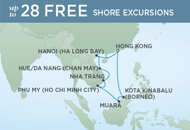 7 Seas Luxury Cruises PEACEFUL PAGODAS and SOARING SPIRES - March 9-21 2021