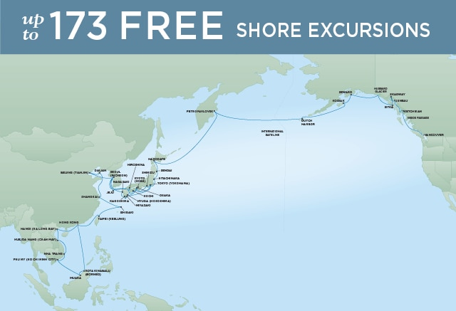 7 Seas Luxury Cruises GRAND ASIA EXPLORATION - March 9 May 9 2021