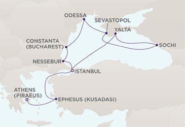 DEALS Map DEALS Regent Cruises RSSC Mariner 2018