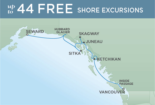 RELIVE THE GOLD RUSH | 7 NIGHTS | DEPARTS JUN 26, 2019 | Seven Seas Mariner