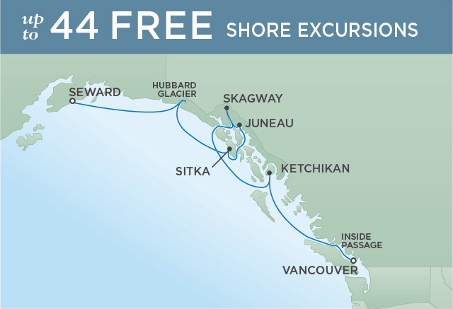 JOURNEY INTO THE TONGASS | 7 NIGHTS | DEPARTS AUG 14, 2019 | Seven Seas Mariner