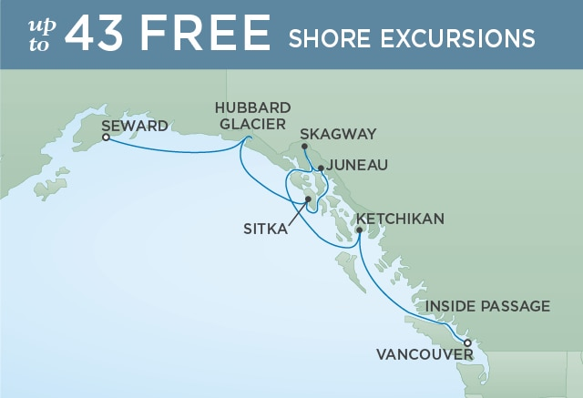 INSIDE PASSAGE EXPEDITION - July 22-29 2020 - 7 Days