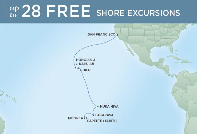 REGENT CRUISES HULA DRUMS & UKULELE STRINGS | 18 NIGHTS | DEPARTS JAN 24, 2020 | Seven Seas Mariner