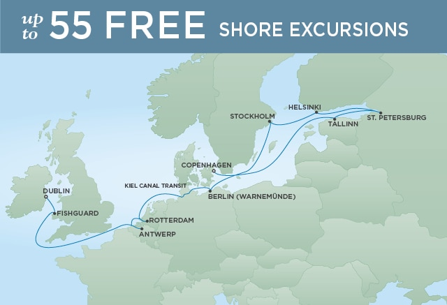SPLENDORS SCANDINAVIA AND THE KIEL - July 14-28 2020