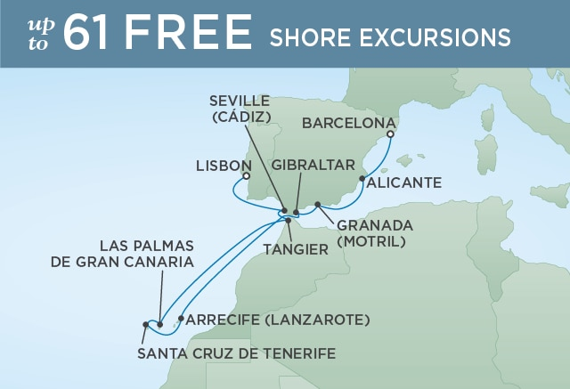 TENERIFE TO TANGIER - November 2-14 2020