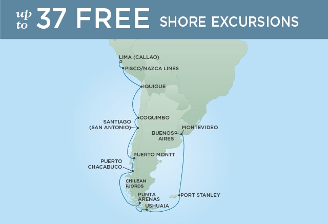 7 Seas Luxury Cruises SOUTHERMOST SOJOURN - January 31 February 21 2021