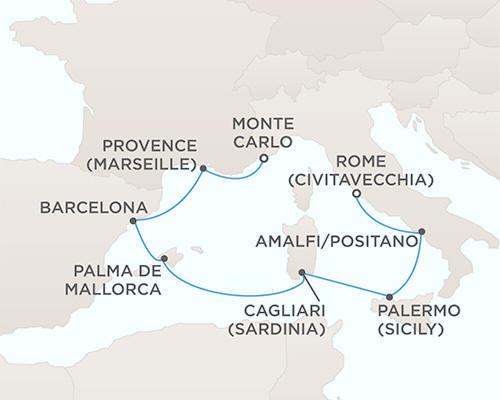 Radisson Seven Seas Voyager Cruises October 14-21 2021 - 7 Days