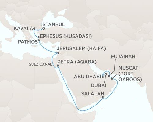 Radisson Seven Seas Voyager Cruises October 31 November 21 2014 - 21 Days
