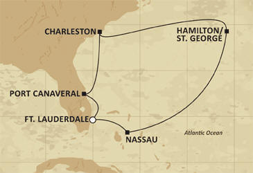 Regent Luxury Cruises Navigator 2011