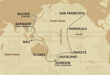 Luxury Cruise - Route