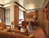 Luxury Cruises SINGLE/SOLOs Cabin Regent Seven Seas Voyager 2008