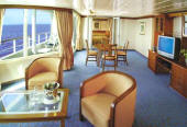 Owner Suite, Penthouse, Grand Suite, Concierge, Veranda, Inside Charters/Groups Cruise Seven Seas Mariner - RSSC 2011 Cruise