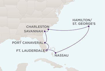 Luxury Cruise - Route