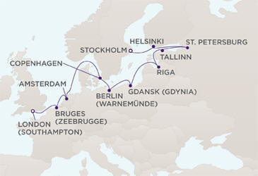 World CRUISE SHIP BIDS - Route
