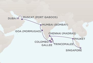 Owner Suite, Penthouse, Grand Suite, Concierge, Veranda, Inside Charters/Groups Cruise Route