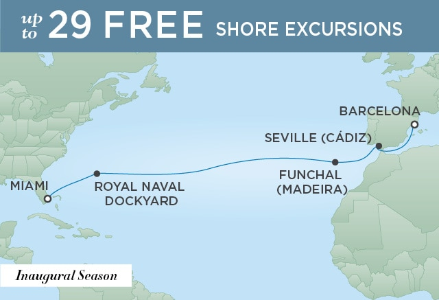 SPLENDOR AT SEA | 14 Nights | Departs Feb 07, 2020 | Seven Seas Splendor