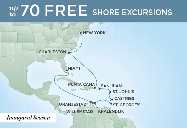 START SPREADING THE SPLENDOR | 15 Nights | Departs Apr 01, 2020 | Seven Seas Splendor
