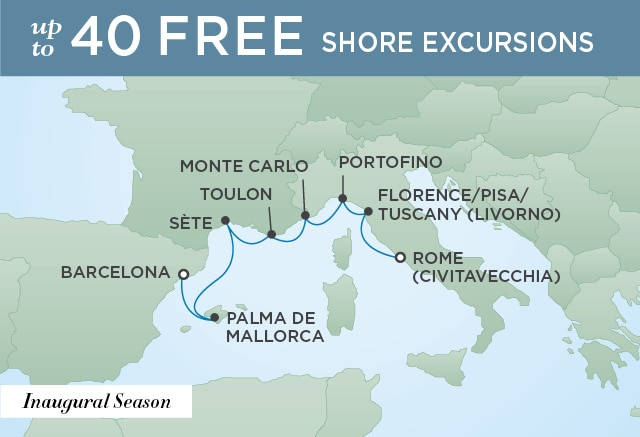 A SUMMER OF SPLENDOR | 7 Nights | Departs May 28, 2020 | Seven Seas Splendor