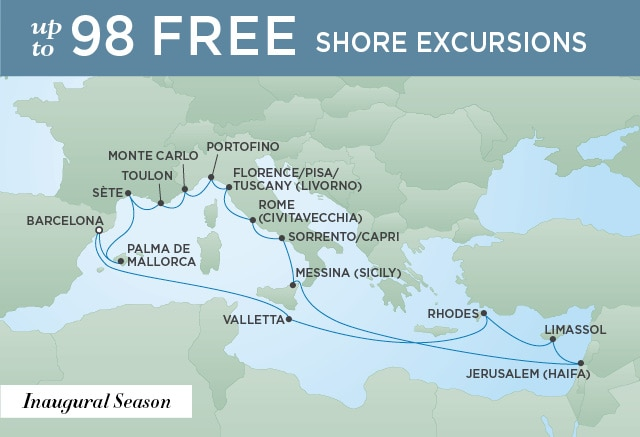 IBERIA & THE MEDITERRANEAN | 19 Nights | Departs May 28, 2020 | Seven Seas Splendor