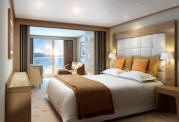 7 Seas Cruises Luxury Seabourn Cruises Sojourn Veranda Suite