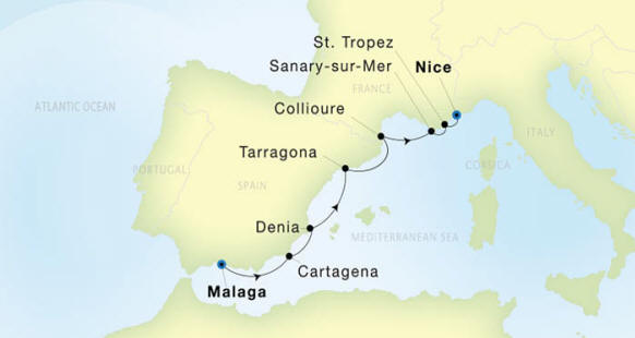 Seadream 1 Cruises Itinerary 2020
