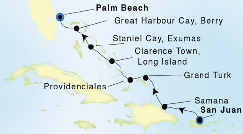 Seadream 2 Cruises Itinerary 2022