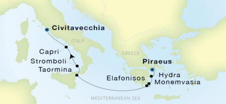 Seadream II Luxury Cruise schedule 2018