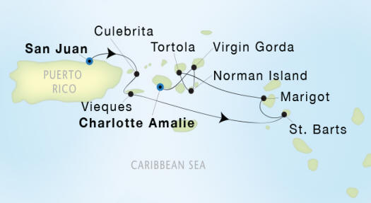 Seadream II Luxury Cruise schedule 2022