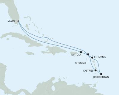 LUXURY CRUISE - Balconies-Suites Seven Seas Explorer - RSSC February 24 March 6 2020 Cruises Miami, FL, United States to Miami, FL, United States