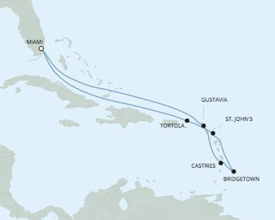 Just Regent Cruises Seven Seas Explorer - RSSC March 16-26 2017 Cruises Miami, FL, United States to Miami, FL, United States