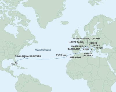 Just Regent Cruises Seven Seas Explorer - RSSC March 26 April 19 2024 Cruises Miami, FL, United States to Venice, Italy