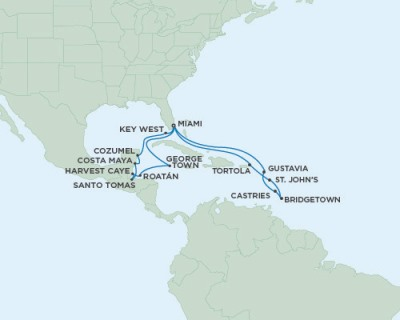 SINGLE Cruise - Balconies-Suites Seven Seas Explorer - RSSC March 6-26 2020 CRUISE Miami, FL, United States to Miami, FL, United States