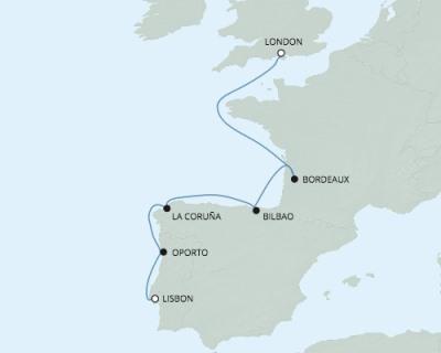 Just Regent Cruises Seven Seas Explorer - RSSC May 28 June 4 2017 Cruises Lisbon, Portugal to Southampton, United Kingdom
