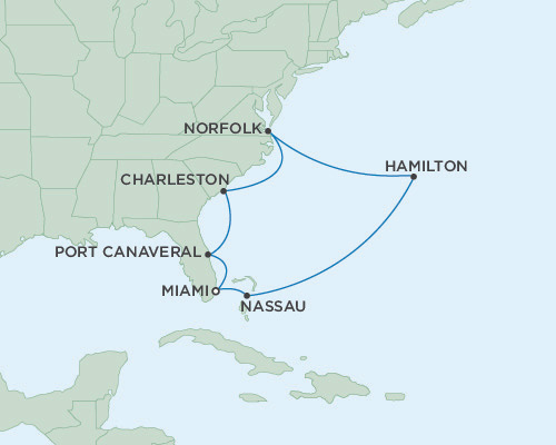 Radisson Luxury Cruises -  Mariner April 8-20 2021 Miami, Florida to Miami, Florida