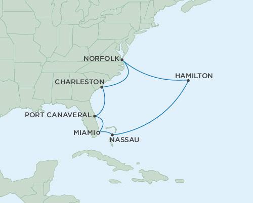 Singles Cruise - Balconies-Suites Seven Seas Mariner April 8-20 2019 Miami, Florida to Miami, Florida